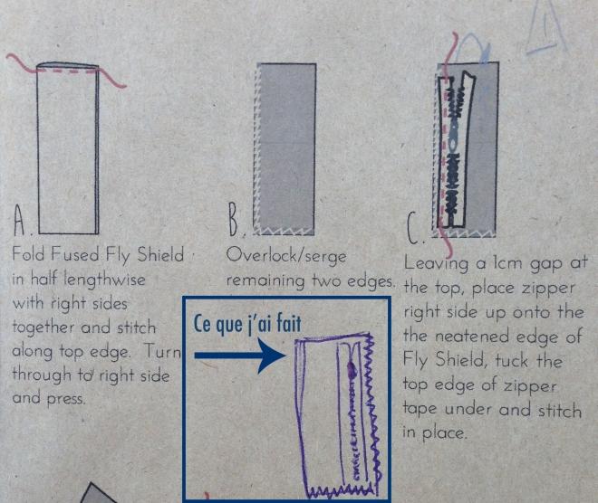 Le fil à la gratte - Pleated Pants - 06
