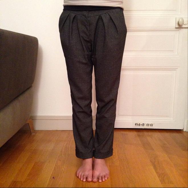 Cool Pharaon - Le fil à la gratte - Pleated Pants - 05