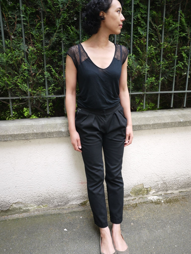 Le fil à la gratte - Pleated Pants
