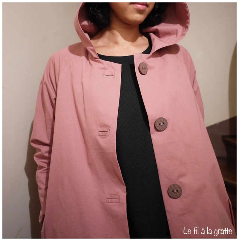 Le fil à la gratte - Waver Jacket - Papercut Patterns