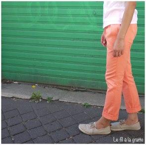 Pleated pants #4