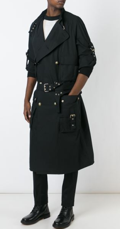 Balmain - Trench multi-poches