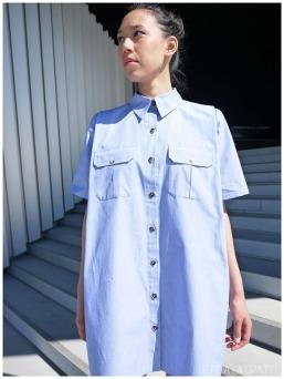 Le fil à la gratte - Robe chemise Chalayan